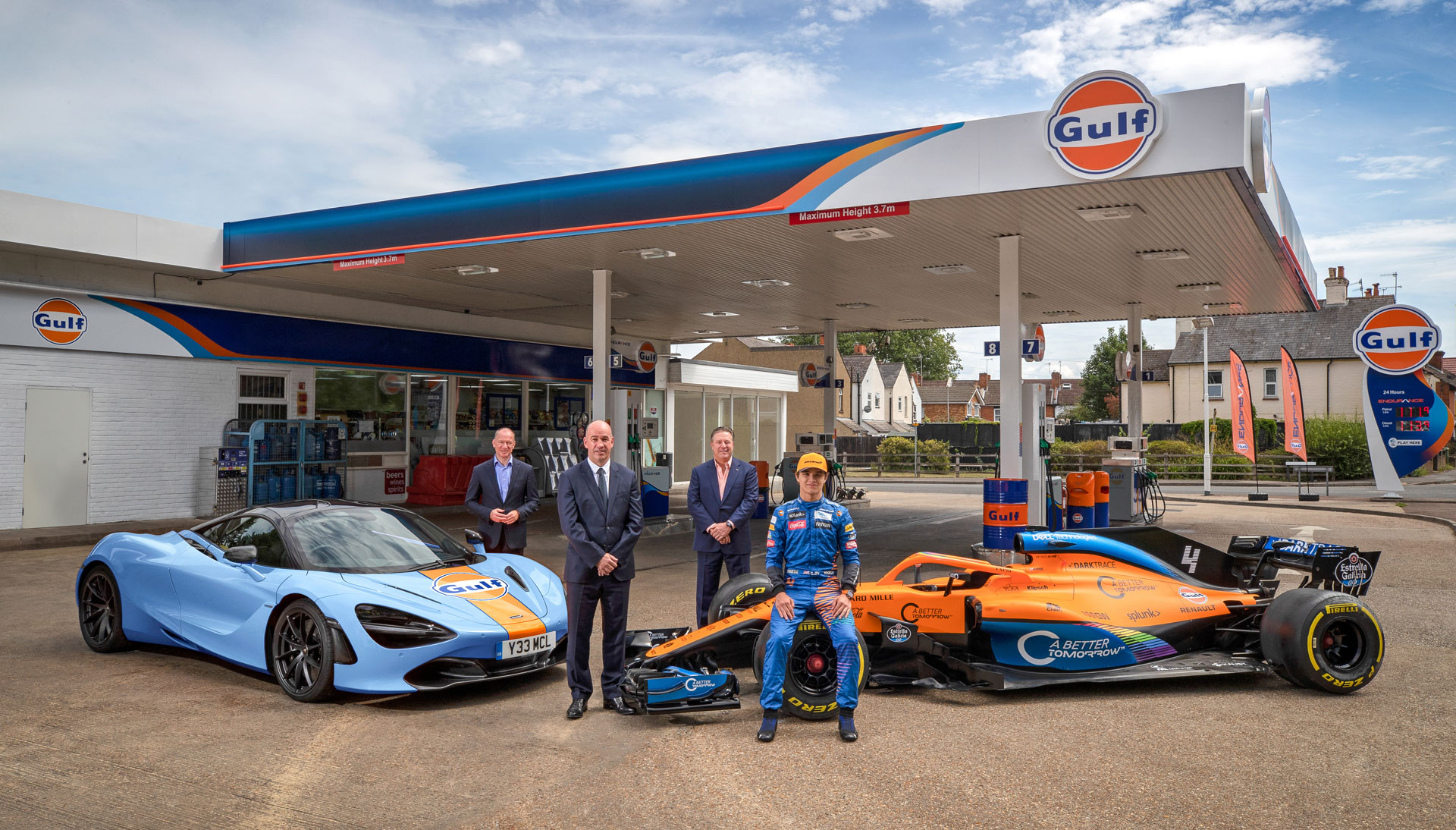 Gulf Race Fuels, Now in Asia.